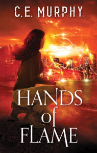 Book Cover: Hands of Flame