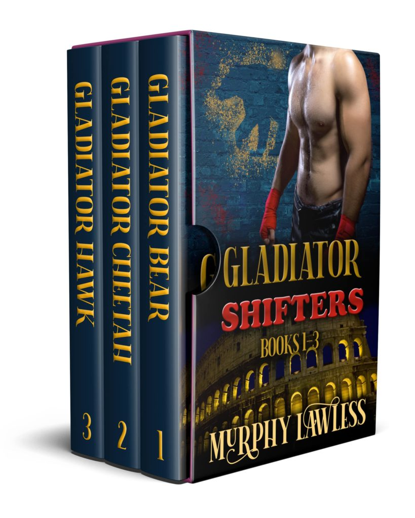Book Cover: The Gladiator Shifters Box Set: Volume One